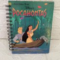 2021 Little Golden Book Upcycled Diary - Pocahontas