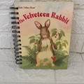 2021 Little Golden Book Upcycled Diary - Velveteen Rabbit