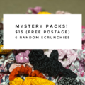 Scrunchies Mystery Pack (Pack of 6)