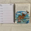 2021 Little Golden Book Upcycled Diary - Bambi
