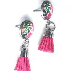 FREE POST: Blossom Possum Tassel Earrings