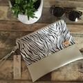 Flat Clutch - Tiger Print