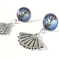 FREE POST: Bettie L'amour Rockabilly Earrings