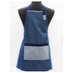 Denim Delight twill children's apron