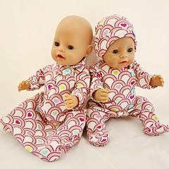 Baby doll Sleep Set - Rainbow Hearts