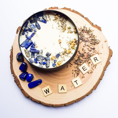WATER Element Candle - Small 105gms
