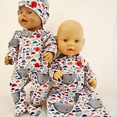 Baby doll Sleep Set - Nautical