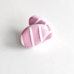 FREE POST: Easter Egg Earrings in Pink