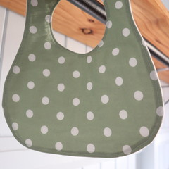 Adjustable Baby Bibs- Spots (  4 different designs available)