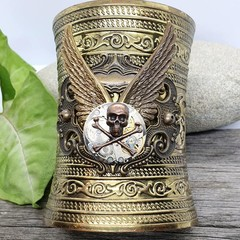 Ahoy it's a Winged Steampunk Cuff