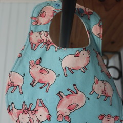 Adjustable Baby Bibs- Blue (  4 different designs available)
