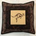 Australiana cushion cover - KANGAROO
