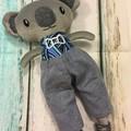 READY TO POST  Koala Softie - BOY small