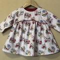 Long Sleeved floral dress - 12 months & 18 months