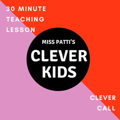 30 minute teaching call for your preschool child