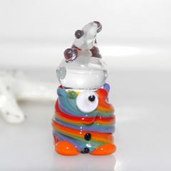 Gumdrop - Glass Figurine Happy Clown