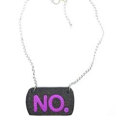 No. Statement necklace