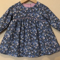 Corduroy Long Sleeved dress - 18 months
