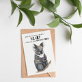 Hand Drawn Australian Greetings Cards, 18 designs to choose from A6 size