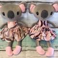 READY TO POST Koala Softie - GIRL small
