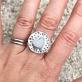 Rare Sea Glass Ring