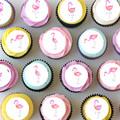 Flamingo Tropical Mini Edible Cupcake Toppers - Pre-cut Sheet of 30 - EI004MC