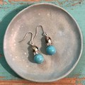 Turquoise Latte earrings