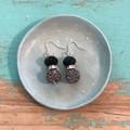 Night shimmer earrings