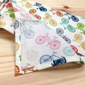 Handkerchief - bicycles / organic cotton / small medium large