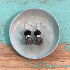 Night shimmer earrings