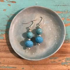 Waves of Blue Earrings