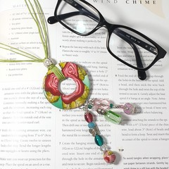 Eyeglass Holder Necklace - Floral Design