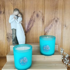 Scented Candle | Mint Republic | Tropical Coconut | Approx 80 Hour Burn time