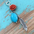 Rose Trinket Necklace (012)