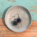 Demin blue Earrings