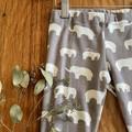 leggings - grey elephant / eco friendly organic cotton / 3 years