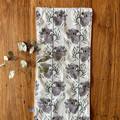 burp cloth - koalas / organic cotton hemp fleece / baby toddler