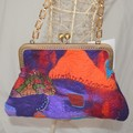 Hand felted bags