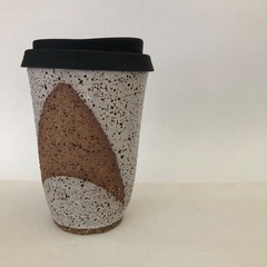 Keep Me Coffee Cup - Reusable/Travel Cup with Siliconed Lid - 14oz (iii)