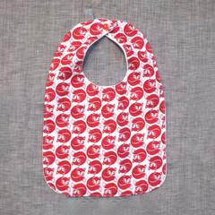 baby - red fox / organic cotton hemp fleece / baby toddler