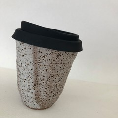 Keep Me Coffee Cup - Reusable/Travel Cup with Siliconed Lid - 10oz (i)