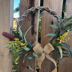 40cm artificial Australian Native wreath