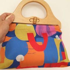 Colourful day handbag