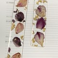 Resin Flower Petal Bookmark 2pk
