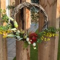 30cm artificial Australian Native wreath