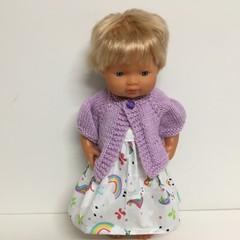 Miniland Dolls Knitted Cardigan to fit 38cm Dolls
