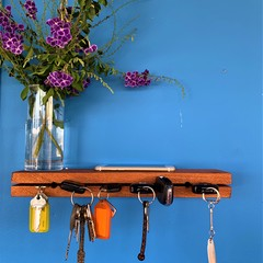 Floating Key Bar Shelf