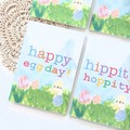 4 Mini Easter Gift Cards, Handmade Blank Gift Tags, Easter Blessings