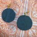 Polymer Clay Earrings - Statement Earrings Paint