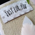 Card + Feather Bookmark | 3 Colours